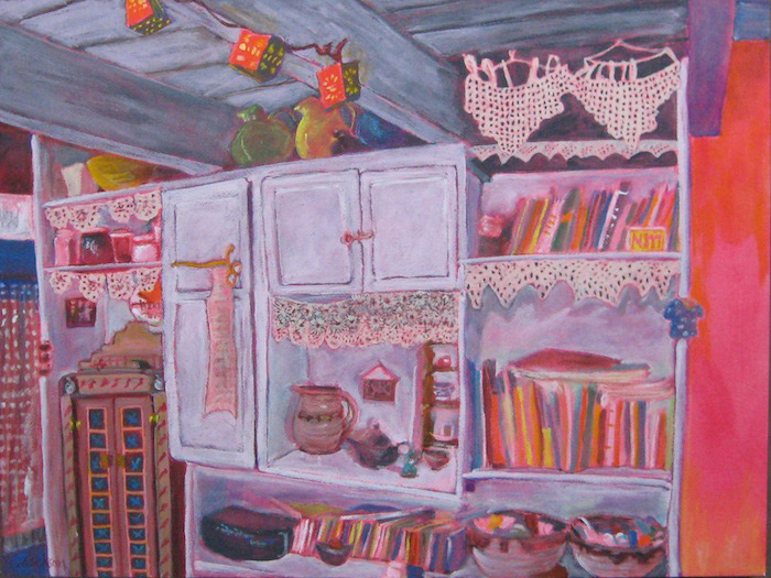 Polly Jackson - Kitchen Shelves