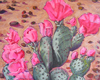 Polly Jackson - Bloomin' Prickly Pear
